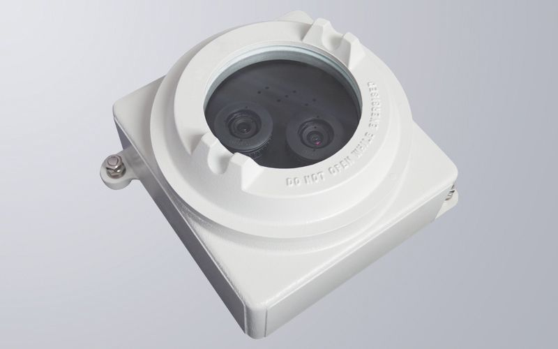 Dual lens capability, each lens angle and configuration is independently controlled