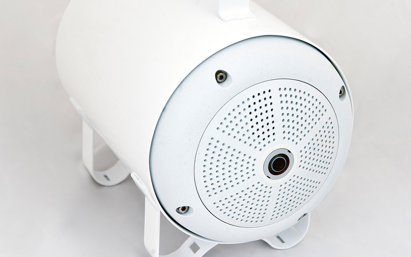 Wireless self-contained 360° allround camera