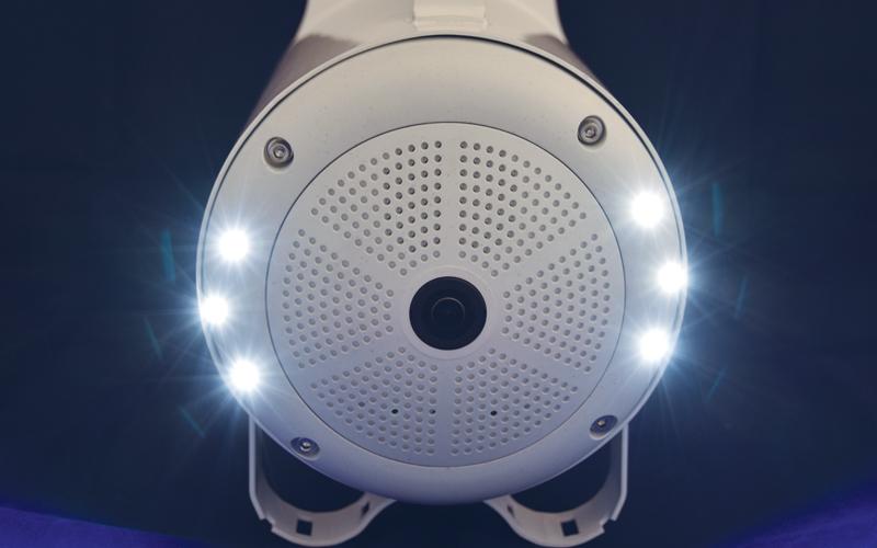 Optional integrated LED lighting