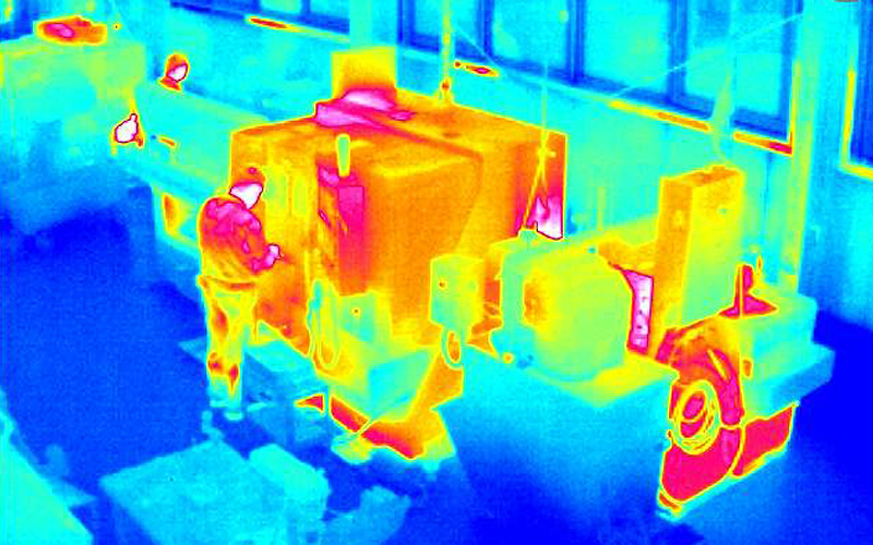 If a machine or storage tank overheats, our camera will detect this and alert you