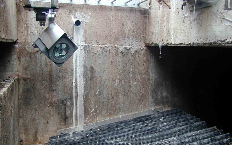 Stainless steel anti-drip shield available