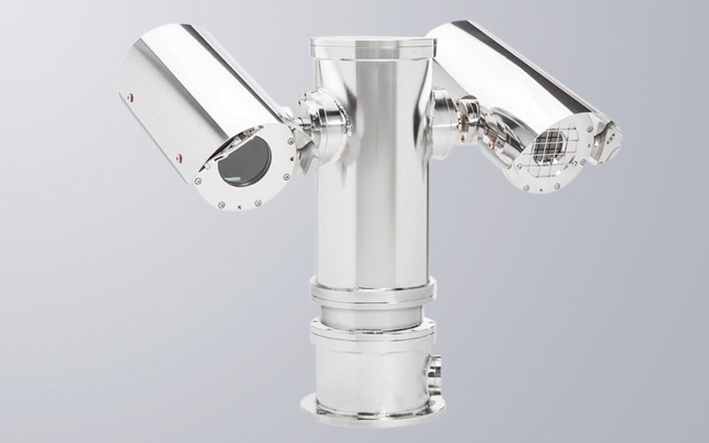 Dual Thermal and Optical Camera Pan & Tilt Station (grid-free option available)