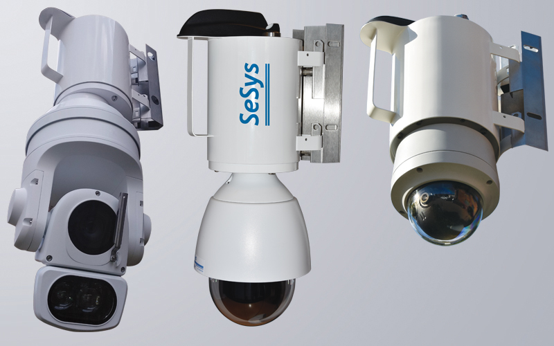 Examples of PTZ and Dome camera integrations